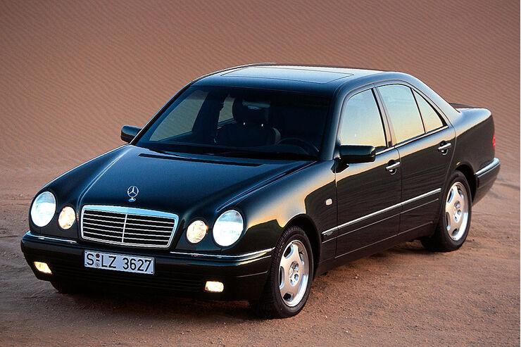 Mercedes E Klasse W210 S210 Baujahr 1995 Bis 2002 Technische Daten Zu Allen Motorisierungen Auto Motor Und Sport