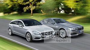 Mercedes gegen BMW