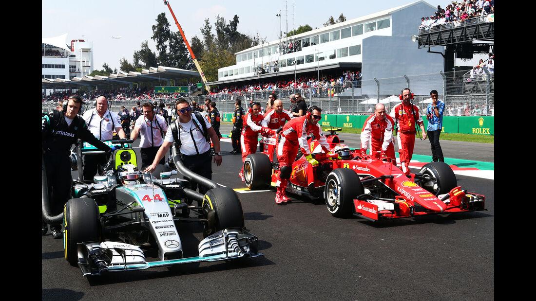 Mercedes vs. Ferrari