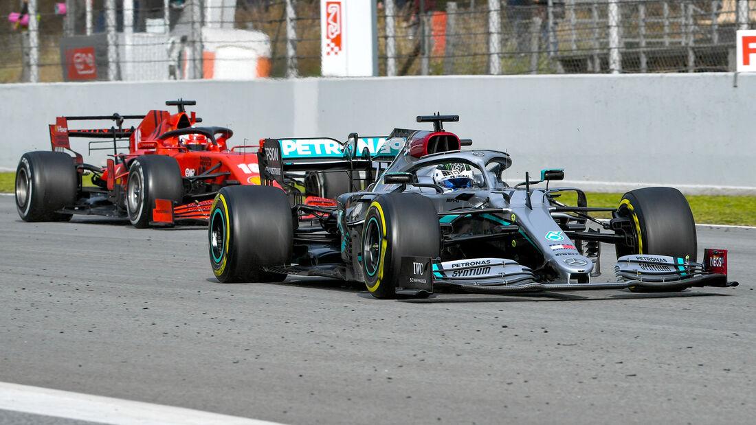 Mercedes vs. Ferrari - Barcelona F1-Test - 2020