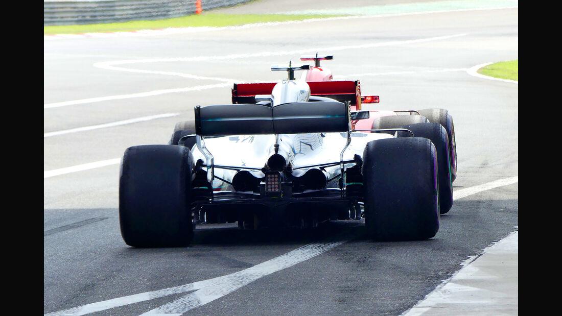 Mercedes vs. Ferrari - GP China 2018