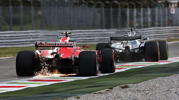 Mercedes vs. Ferrari - GP Italien 2017