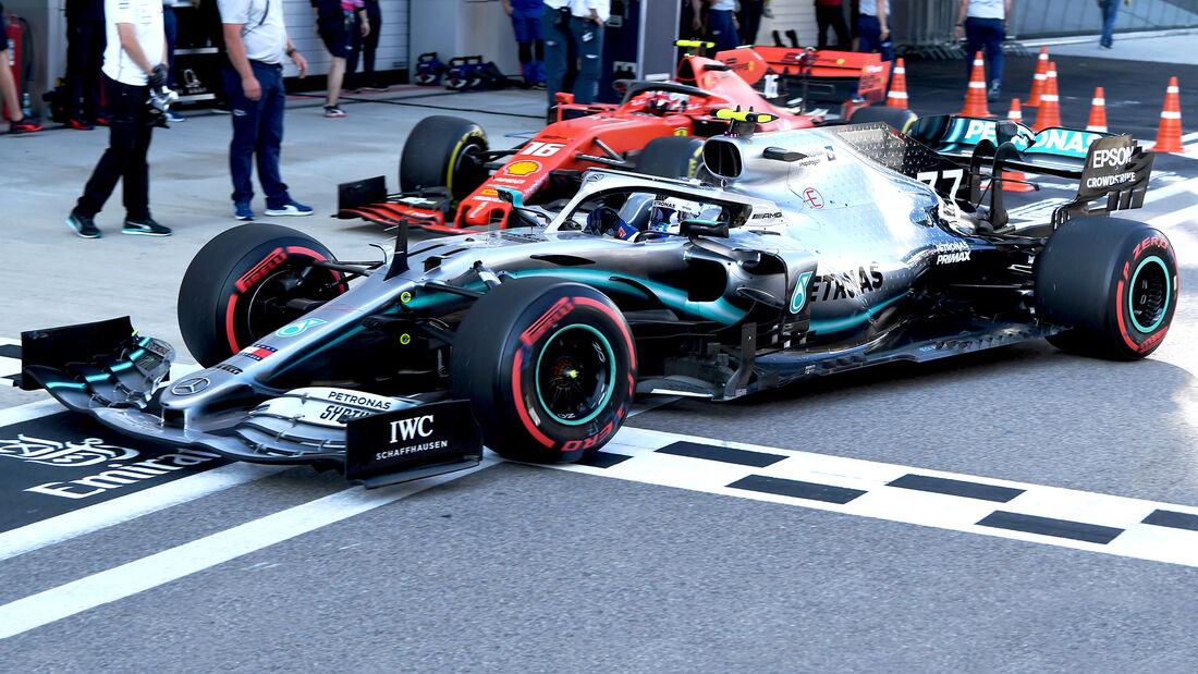 Mercedes vs. Ferrari - GP Russland 2019