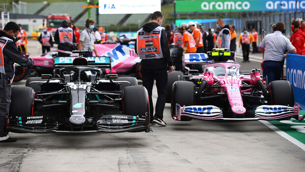 Mercedes vs. Racing Point - Formel 1 - GP Ungarn - Budapest - 18. Juli 2020