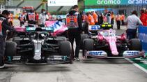 Mercedes vs. Racing Point - Formel 1 - GP Ungarn - Budapest - 18. Juli 2020