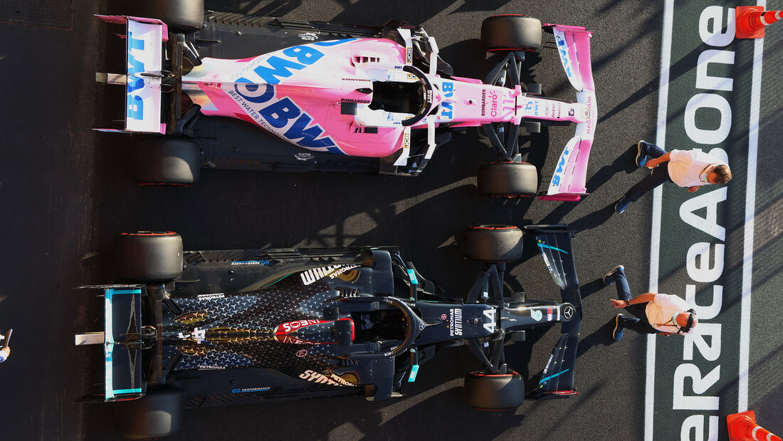 Mercedes vs. Racing Point - GP Toskana 2020
