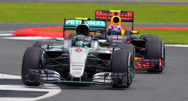 Mercedes vs. Red Bull - Formel 1 - 2016