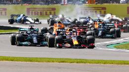 Mercedes vs. Red Bull - Formel 1 - GP England 2021