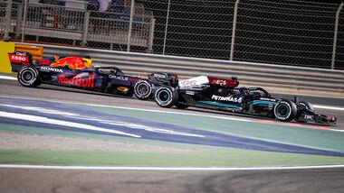 Mercedes vs. Red Bull - GP Bahrain 2021