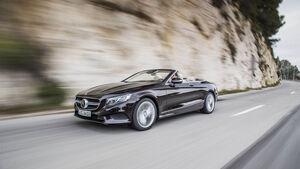 Merceds S 500 Cabrio, Fahrbericht, Cabriolet, 04/2016