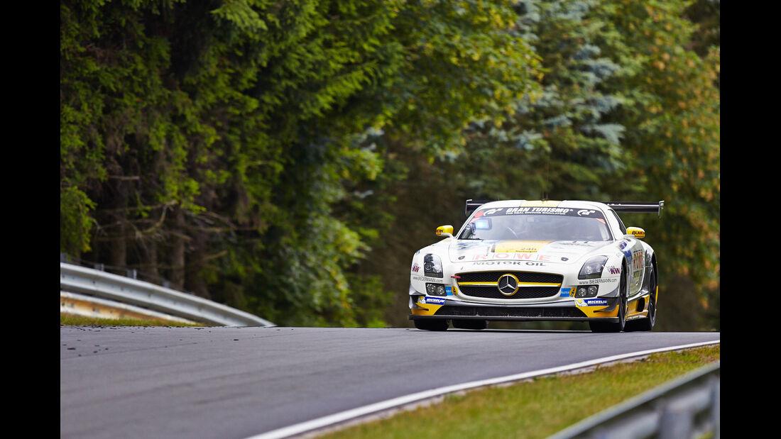 Merceds SLS GT3 AMG - Rowe Racing - 24h-Rennen Nürburgring 2014 - Top-30-Qualifying