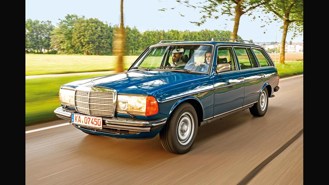 Mercerdes-Benz S123, Frontansicht