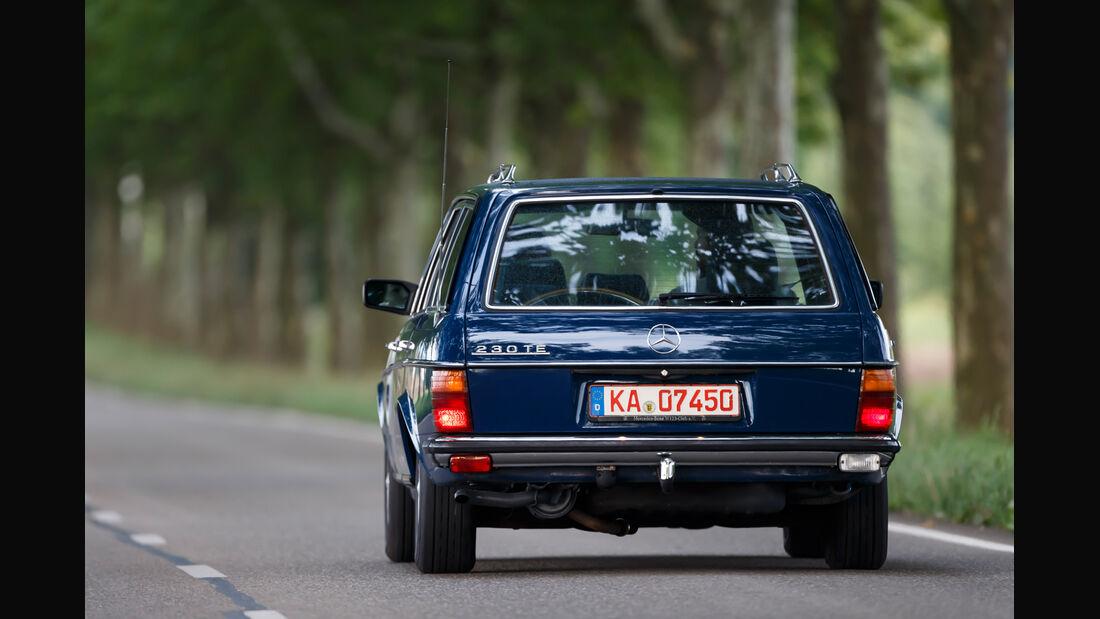 Mercerdes-Benz S123, Heckansicht