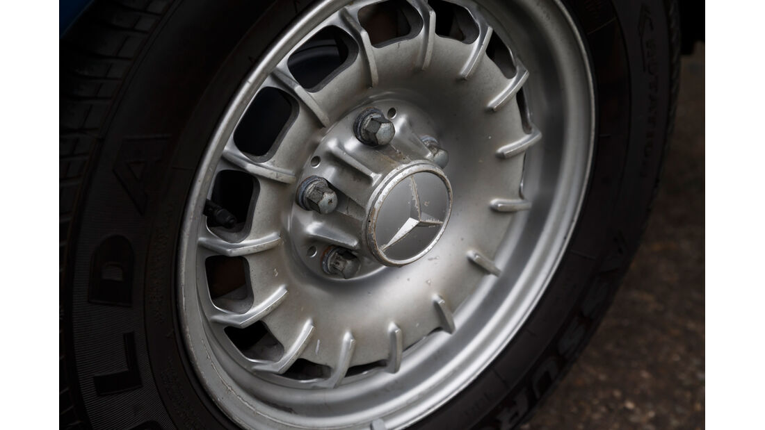 Mercerdes-Benz S123, Rad, Felge