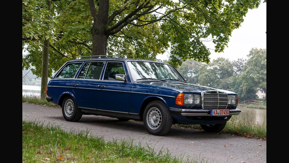Mercerdes-Benz S123, Seitenansicht