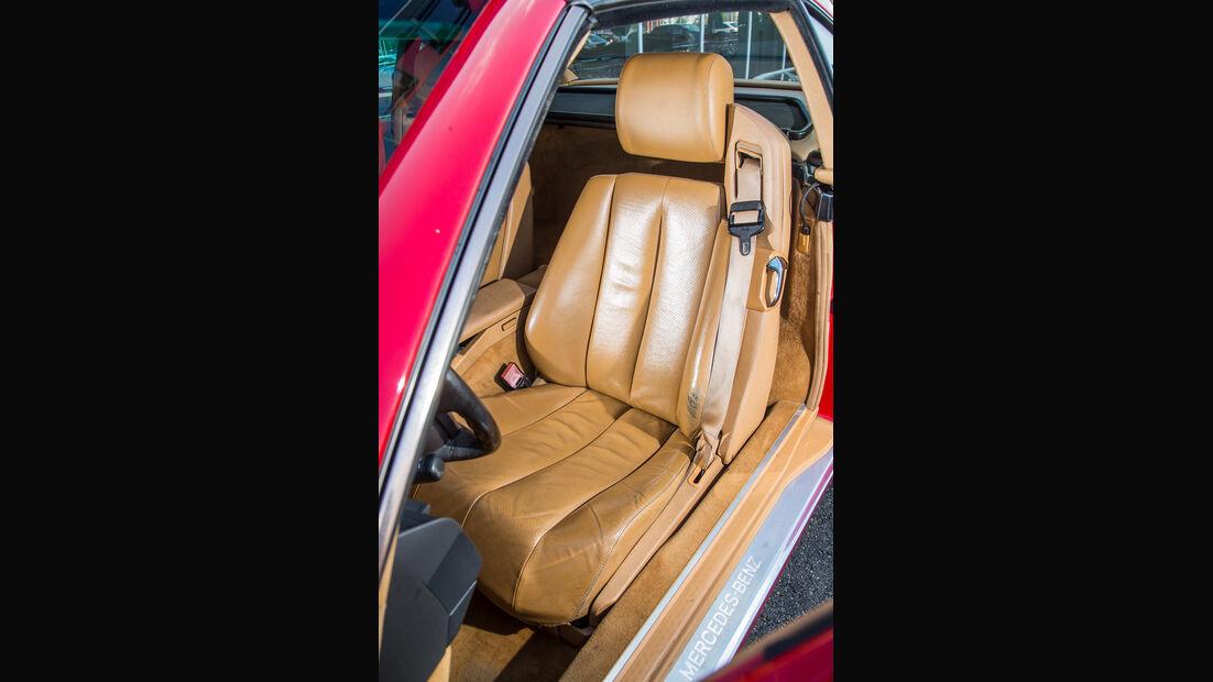 Mercerdes SL 500 (R129), Fahrersitz