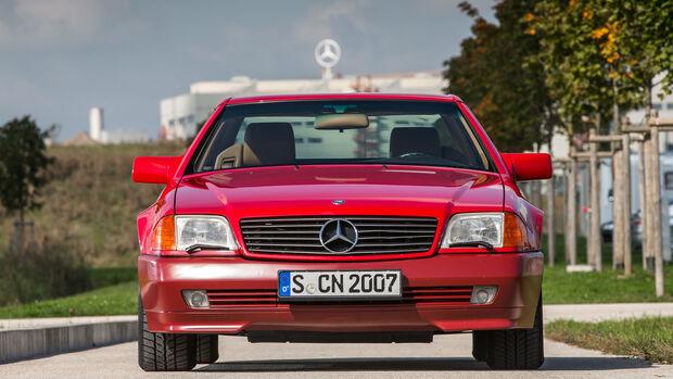 Mercerdes SL 500 (R129), Frontansicht