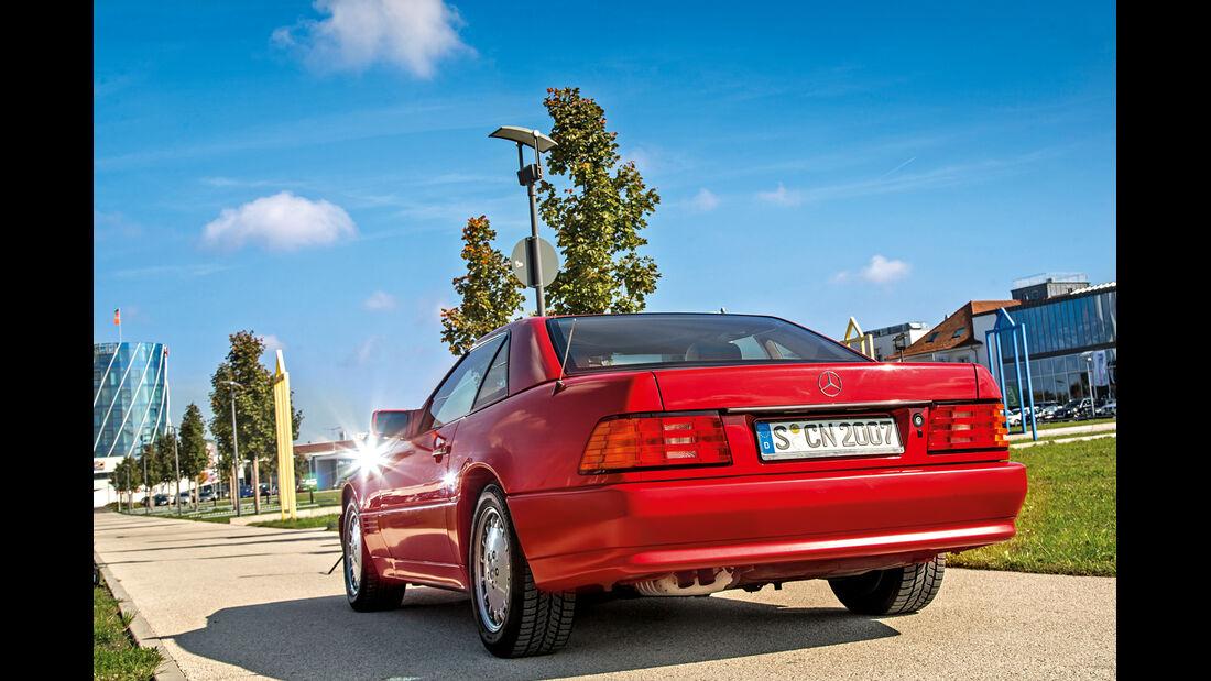 Mercerdes SL 500 (R129), Heckansicht