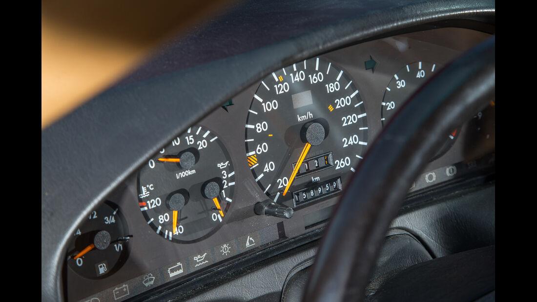 Mercerdes SL 500 (R129), Rundinstrumente