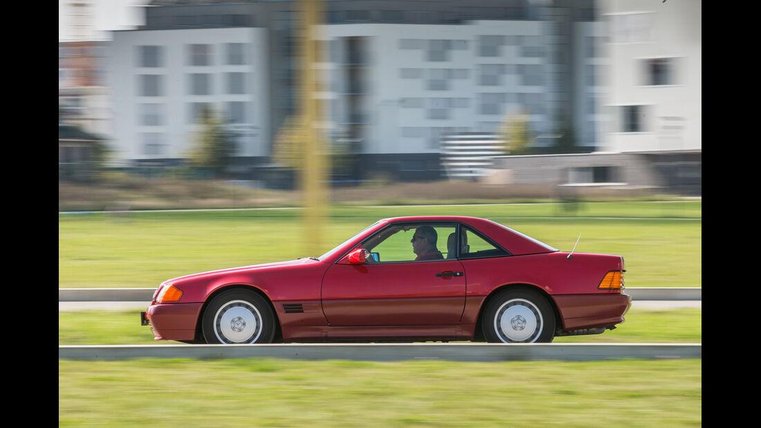 Mercerdes SL 500 (R129), Seitenansicht