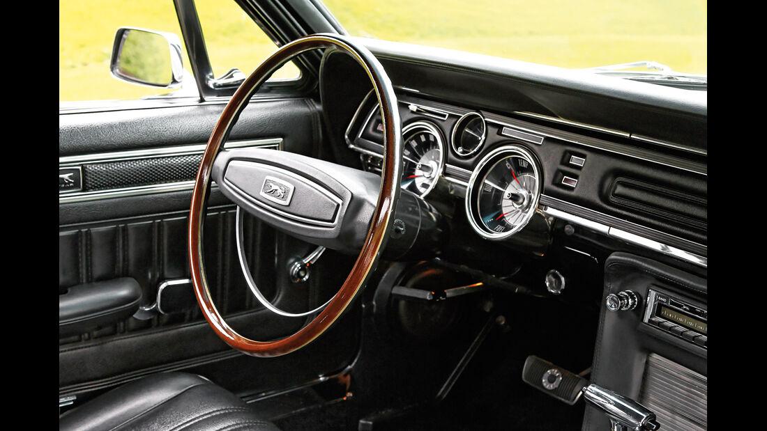Mercury Cougar, Cockpit, Lenkrad