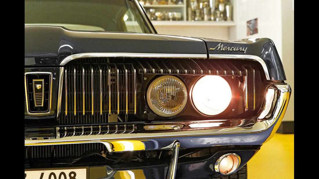 Mercury Cougar, Frontscheinwerfer