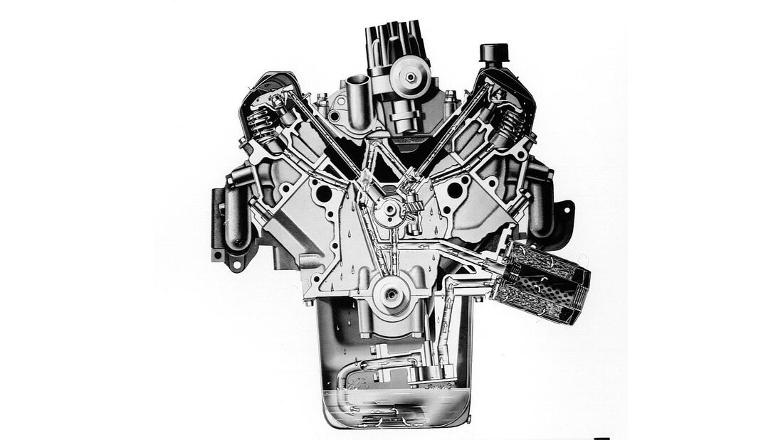 Mercury Cougar, Motor, Grafik