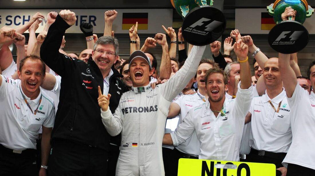 Merecedes Team  - Formel 1 - GP China - 15. April 2012