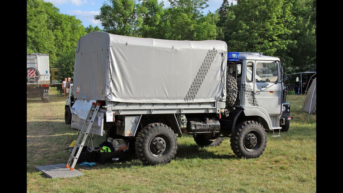 Messe Abenteuer Allrad Bad Kissingen 2015 – Wohnmobile in der Camp-Area
