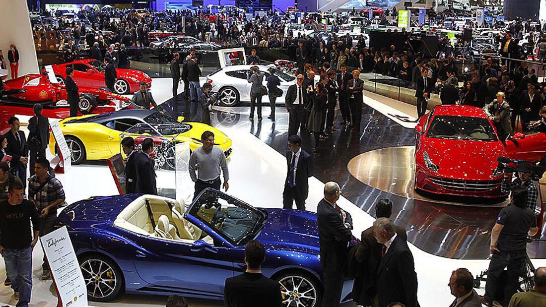 Messe, Autosalon Genf, Publikum