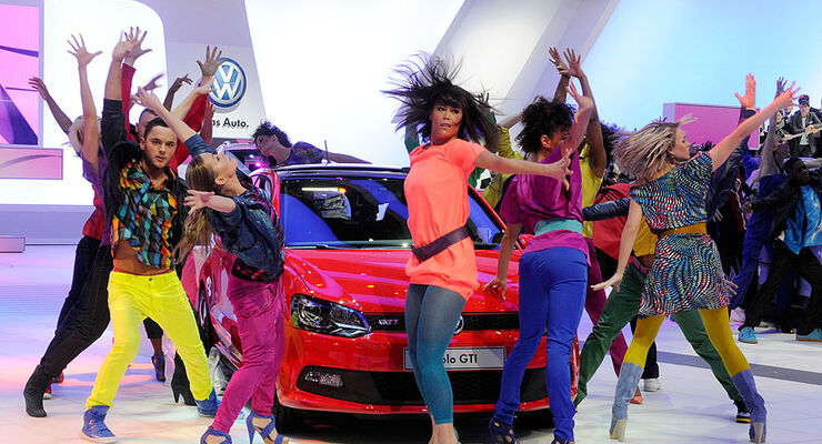 Messe-Girls Autosalon Genf 2010
