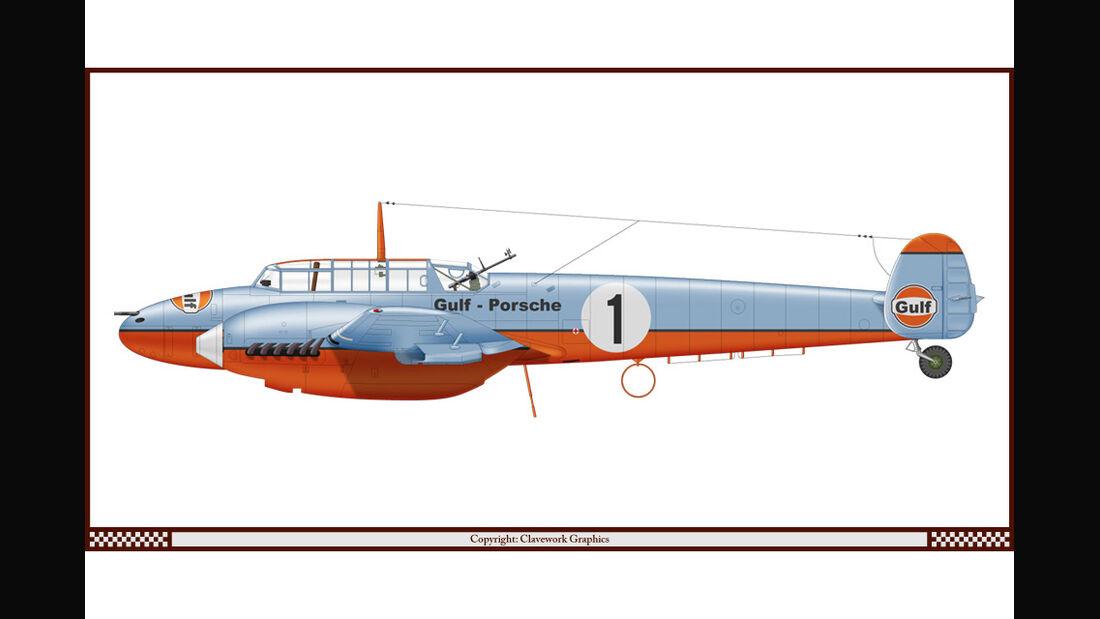 Messerschmidt BF 110 - Gulf - Racing-Planes - 2015