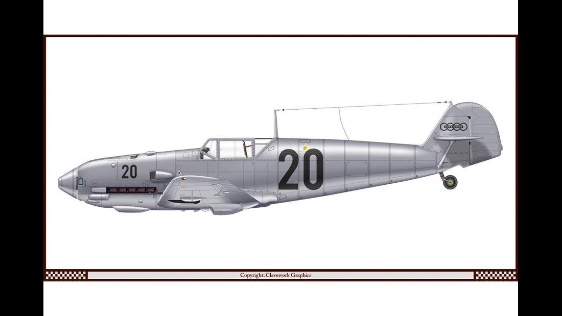 Messerschmidt Bf 109 E4 - Auto Union - Racing-Planes - 2015