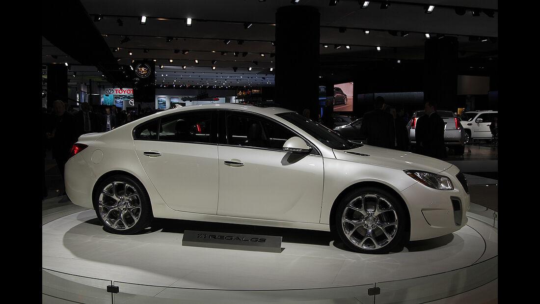 Messerundgang Detroit Motor Show 2011, Buick Regal GS