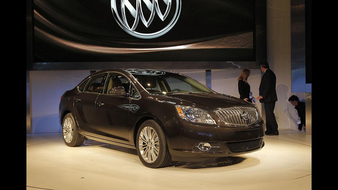 Messerundgang Detroit Motor Show 2011, Buick Verano