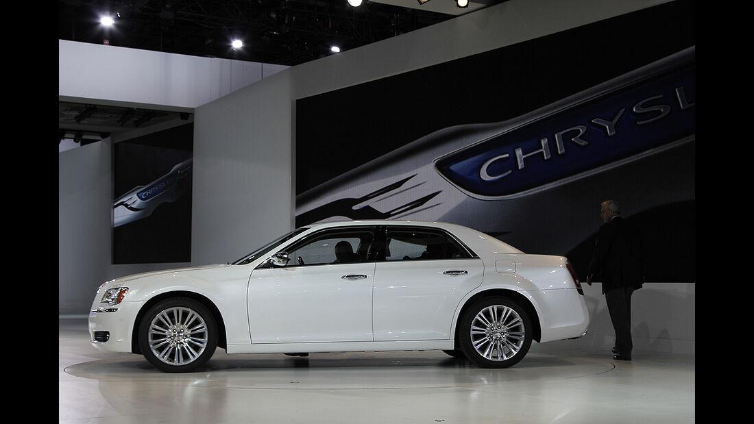 Messerundgang Detroit Motor Show 2011, Chrysler 300C