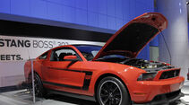 Messerundgang Detroit Motor Show 2011, Ford Mustang Boss 302