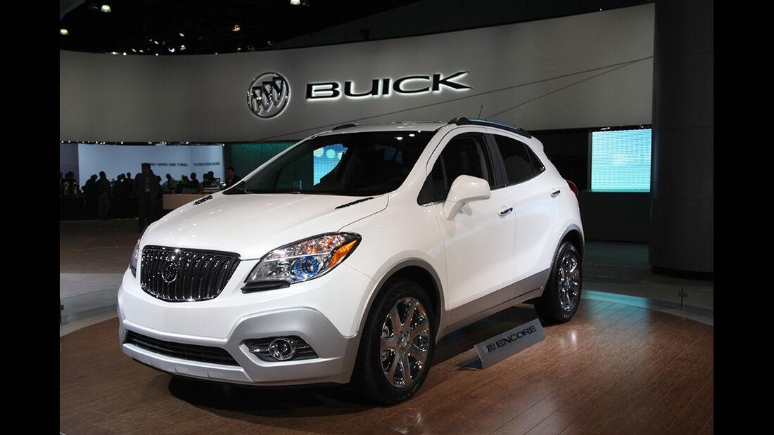 Messerundgang L.A. Auto Show 2012, Buick Encore