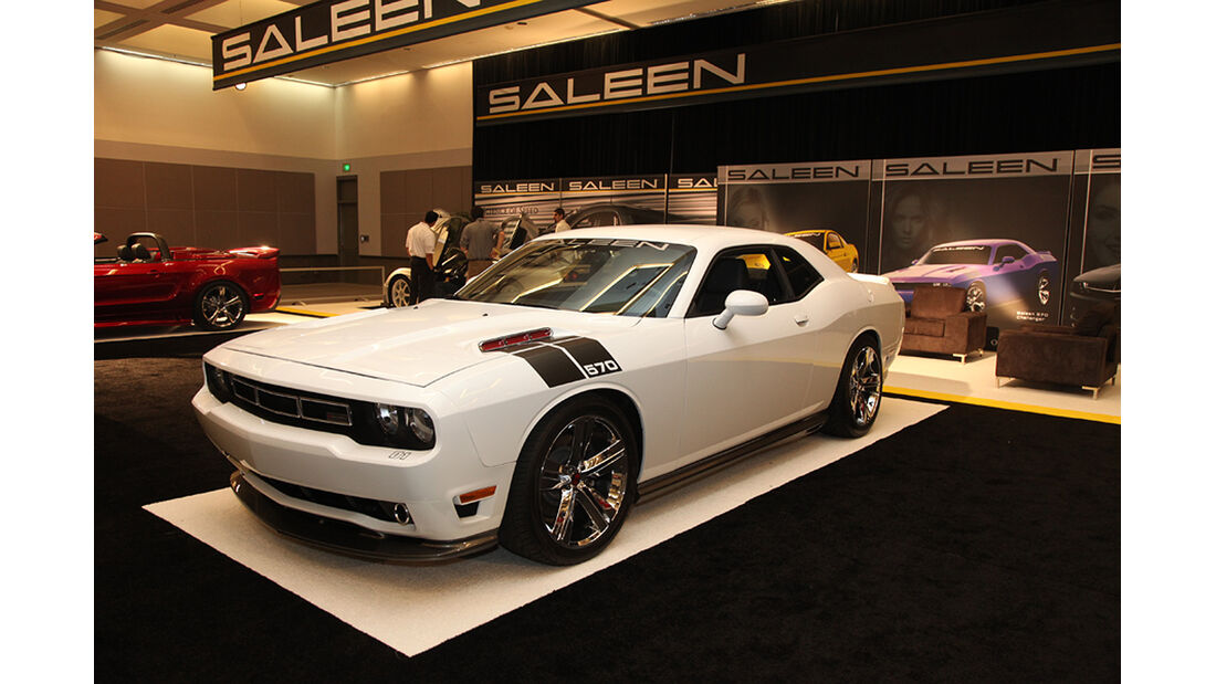 Messerundgang L.A. Auto Show 2012, Chevrolet Camaros von Saleen