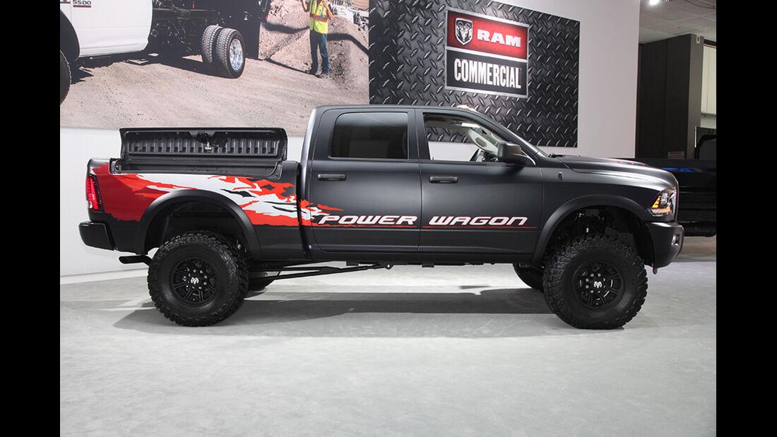 Messerundgang L.A. Auto Show 2012, Dodge Ram