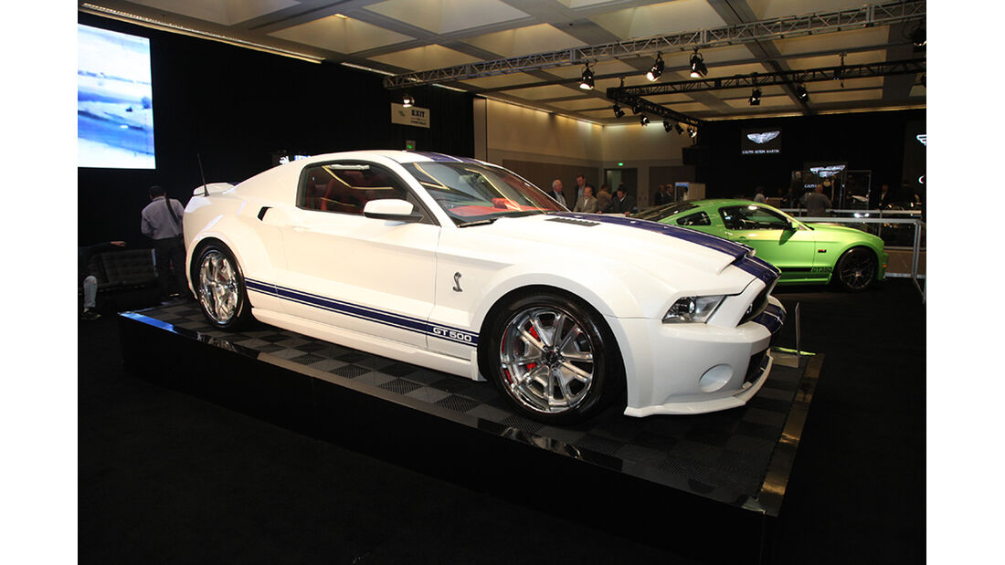 Messerundgang L.A. Auto Show 2012, Ford Mustang Shelby