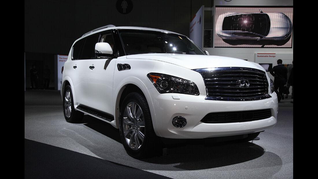 Messerundgang L.A. Auto Show 2012, Infiniti QX