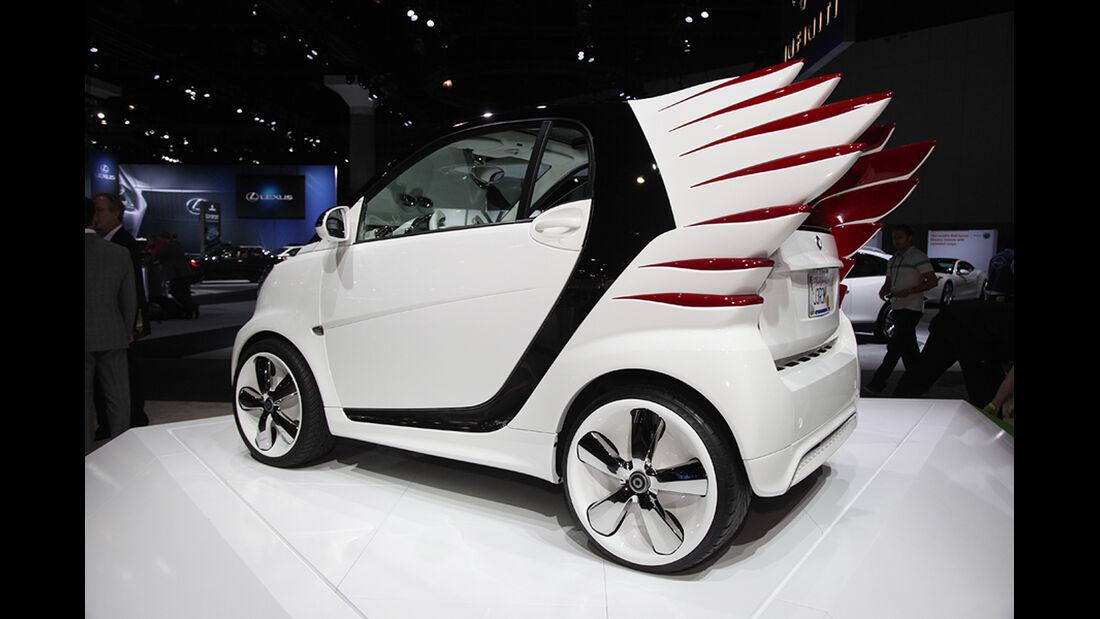 Messerundgang L.A. Auto Show 2012, Smart forjeremy