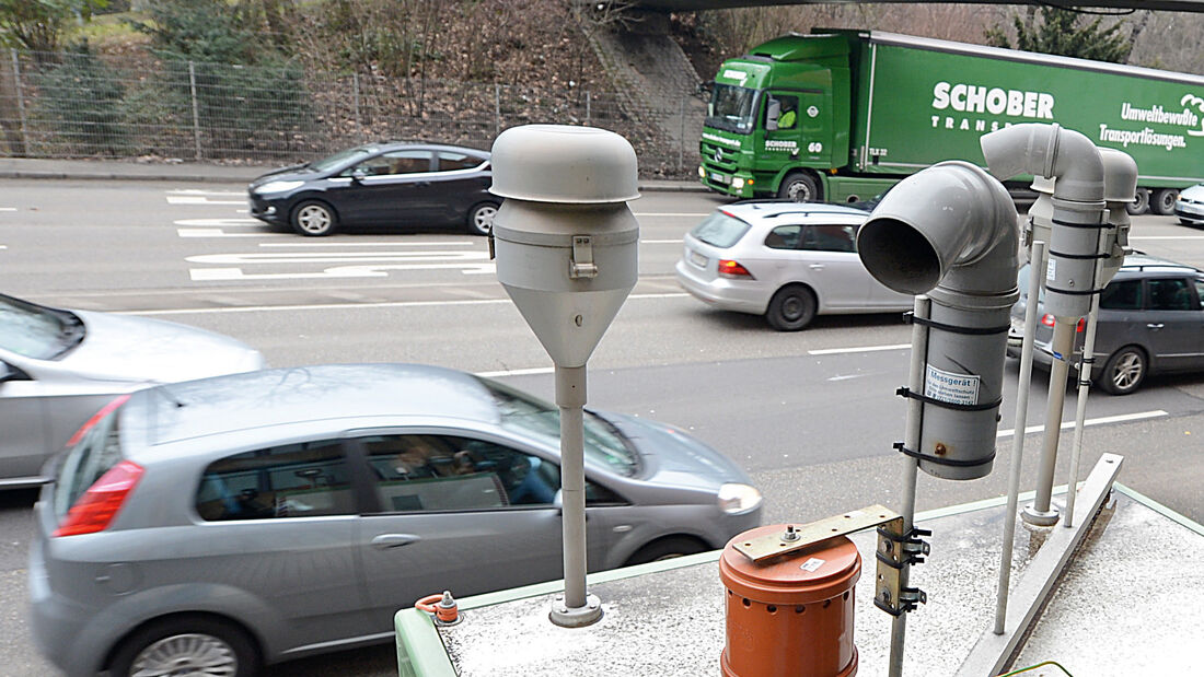 Messstelle am Neckartor, Stuttgart