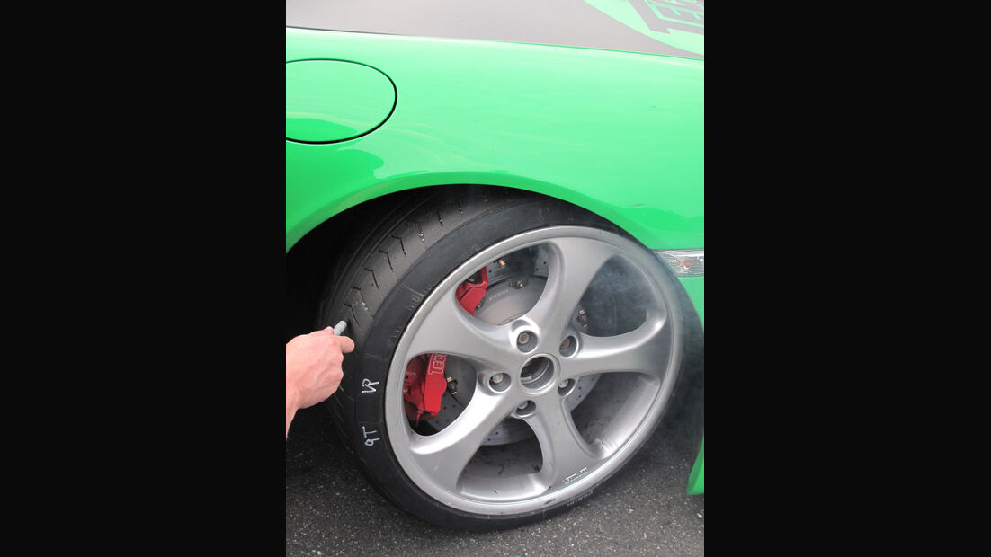 Messung Reifen