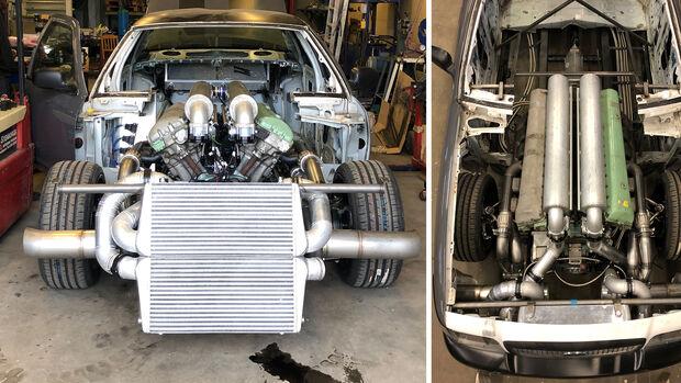 Meteor Interceptor Panzermotor Ford Crown Victoria