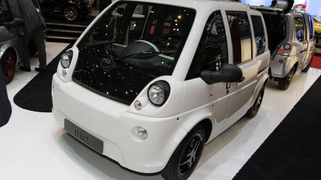Mia Electric, Autosalon Genf 2012, Messe, E-Auto