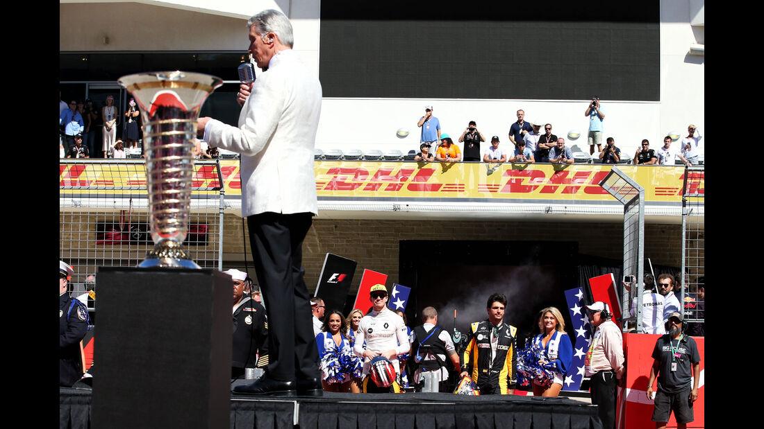 Michael Buffer - GP USA 2017 - Rennen