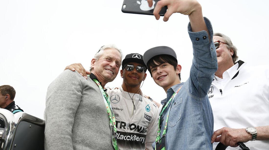 Michael Douglas - GP Kanada 2015