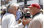 Michael Douglas & Niki Lauda - GP Monaco 2013 - VIPs & Promis